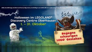 LEGOLAND Discovery Centre Oberhausen feiert Halloween 2015 im ganzen Oktober