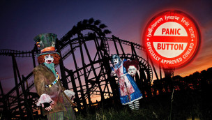 Halloween Horror Fest Panic-Button im Movie Park Germany
