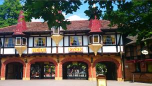 Heide Park Eingang