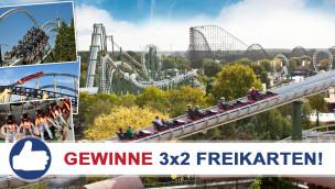 Gewinne 3×2 Eintrittskarten für den Heide Park beim Freikarten-Freitag KW39/2015