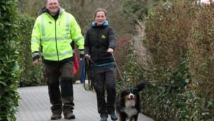 Suchhunde-Training 2015 im Holiday Park