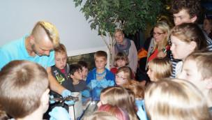 Junge Umweltschützer im SEA LIFE Oberhausen - erstes Treffen