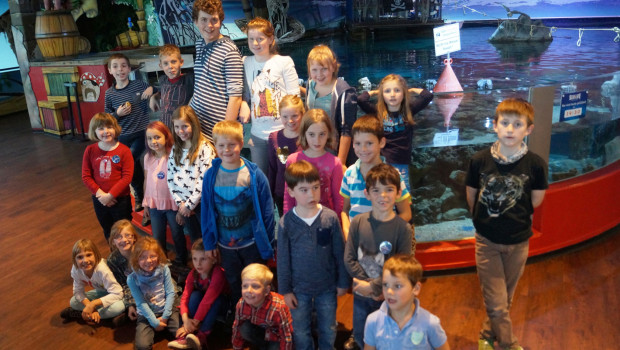 Junge Umweltschützer im SEA LIFE Oberhausen - Teilnehmer