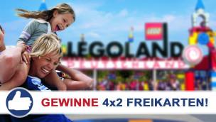 Gewinne 4×2 Eintrittskarten für das LEGOLAND Deutschland beim Freikarten-Freitag KW40/2015