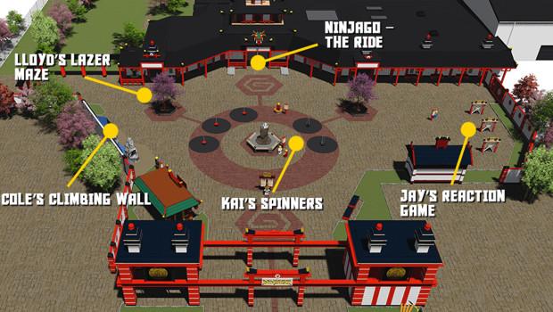 Ninjago Ninjaland im LEGOLAND Billund