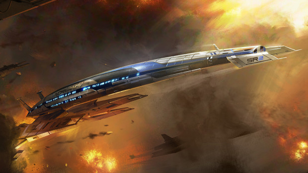 Normandy SR-2 au Mass Effect