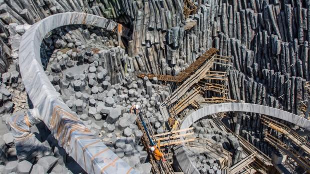 Phantasialand Taron-Baustelle September 2015 - 12
