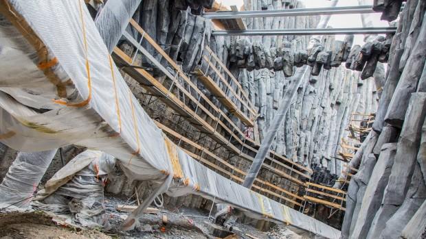 Phantasialand Taron-Baustelle September 2015 - 4
