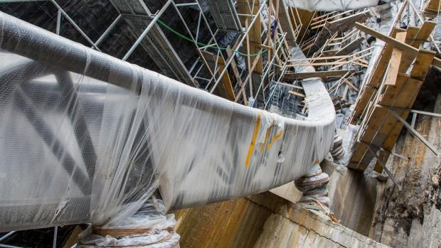 Phantasialand Taron-Baustelle September 2015 - 5
