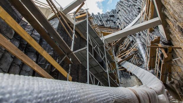 Phantasialand Taron-Baustelle September 2015 - 6