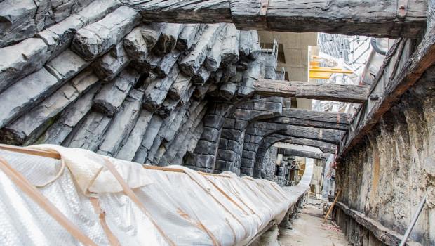 Phantasialand Taron Baustelle im September 2015