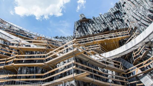 Phantasialand Taron-Baustelle September 2015 - 8