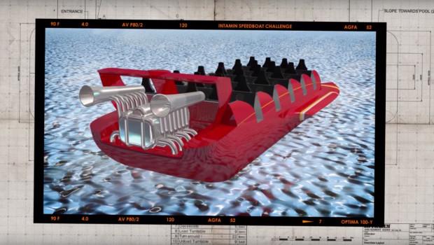 Schnellboote der Intamin Speedboat Challenge