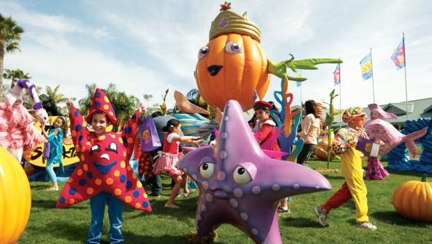 Orlando SeaWorld's Halloween Spooktacular