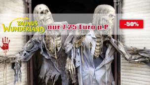 Halloween im Taunus Wunderland zum Sparpreis: Tickets mit 50% Rabatt sichern!
