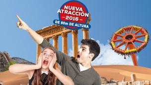 Neue Attraktion 2016 in Terra Mítica wird 80 Meter hohes Flugkarussell