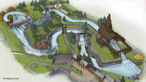 TusenFryd Wildwasser-Rafting 2016 Concept