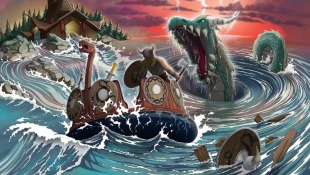 TusenFryd Wildwasser-Rafting Artwork