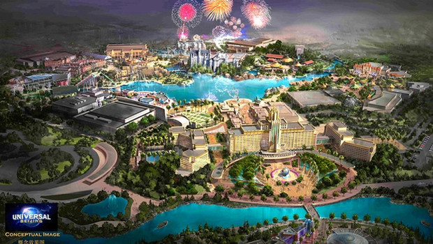 Universal Beijing Konzeptgrafik