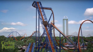 Valravn - Cedar Point Dive Coaster Render 1