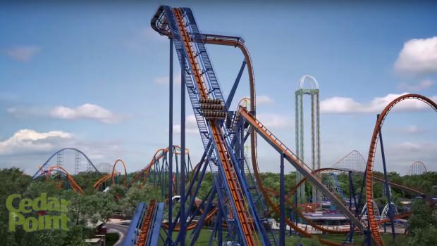 Valravn - Cedar Point Dive Coaster Render 1