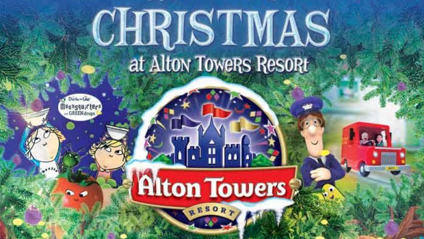 Alton Towers - Weihnachten 2015