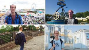 Blinder Freizeitpark-Tester Christian Ohrens im Interview