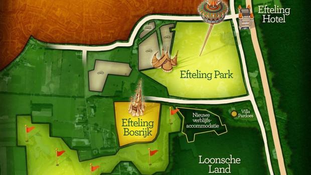 Efteling Ferienpark für 2017 Ankündigung