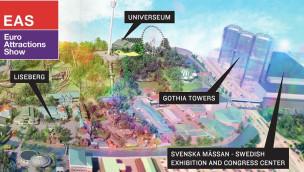 Freizeitpark-Branche trifft sich ab 6. Oktober zur Euro Attractions Show (EAS) 2015 in Göteborg