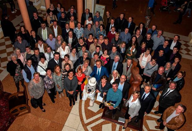 Europa-Park Mitarbeiter-Ehrung 2015 - Gruppenfoto