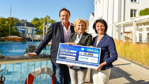 Europa-Park Spende an Unicef 2015