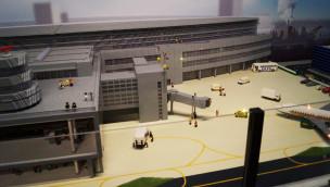 Düsseldorfer Flughafen aus LEGO als größtes Modell im LEGOLAND Discovery Centre Oberhausen eingeweiht