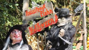 Freizeitpark Plohn im Oktober 2016 mit Halloween-Gruselspaß