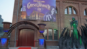 Grusellabyrinth NRW Bottrop - Eingang