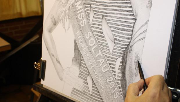 Halloweeks-Portrait der Miss Soltau - Schritt 3
