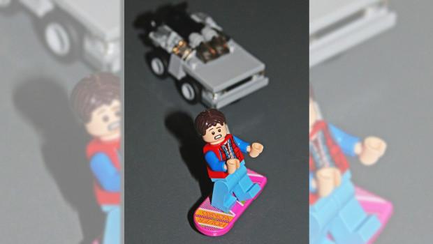 Marty McFly - Zurück in die Zukunft- LEGOLAND Oberhausen
