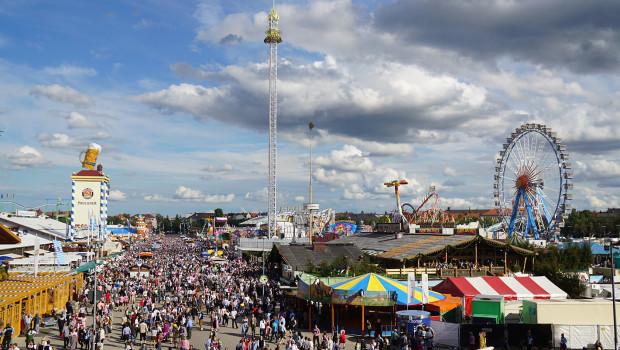 Oktoberfest 2015 Besucher
