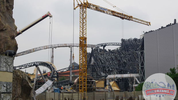 Phantasialand Baustelle 2015 - Taron in Klugheim - Oktober - 1