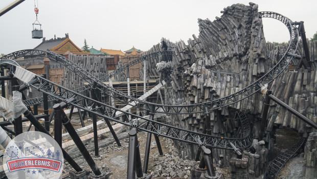 Phantasialand Baustelle 2015 - Taron in Klugheim - Oktober - 4