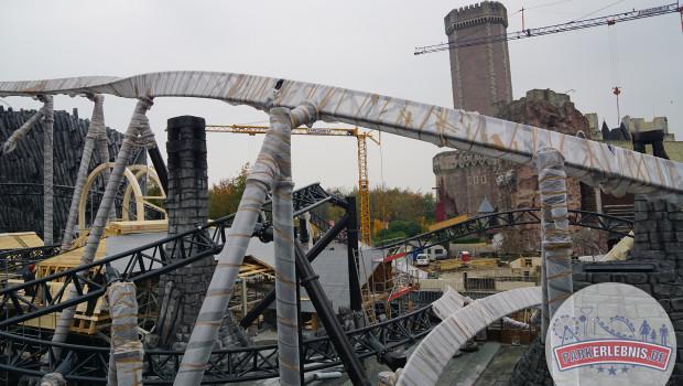 Phantasialand Baustelle 2015 - Taron in Klugheim - Oktober - 5