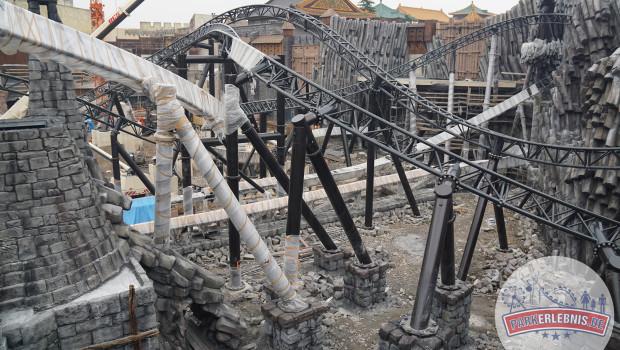 Phantasialand Baustelle 2015 - Taron in Klugheim - Oktober - 6