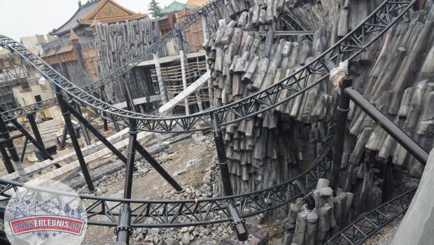 Phantasialand Baustelle 2015 - Taron in Klugheim - Oktober - 9