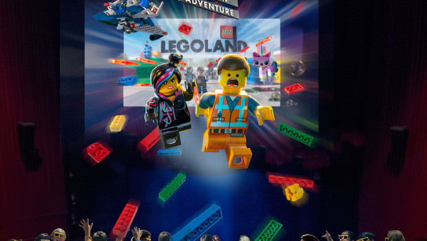 The LEGO Movie 4D A New Adventure - Plakat