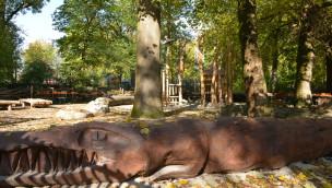 Tierpark Hellabrunn eröffnet Spielplatz in Afrika-Ambiente
