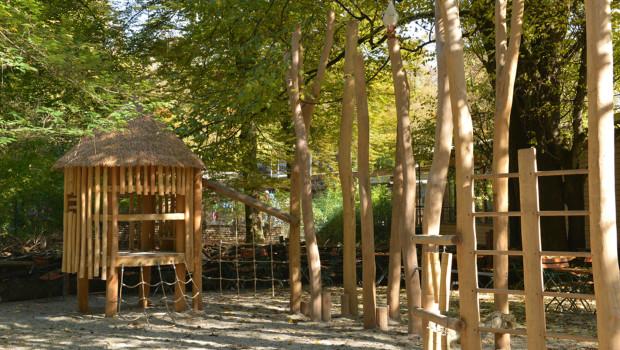 Tierpark Hellabrunn Spielplatz Afrika Klettern