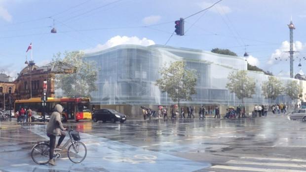 Tivoli Kopenhagen Food Court Konzept