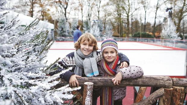 Winter-Efteling Eislaufbahn