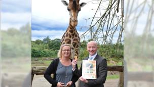 BP Gelsenkirchen übernimmt Giraffen-Patenschaft in ZOOM Erlebniswelt