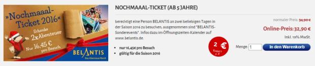 Belantis Nochmaaal-Ticket