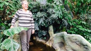 Dr. Brieschke im Zoo Karlsruhe Exotenhaus